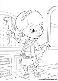 Doc Mcstuffins Coloring Picture Disney Coloring Pages Doc