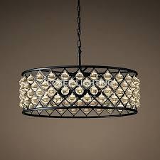 glass drop chandeliers 8 light oval antique brass glass drop chandelier intended