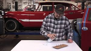 classic car painting tips fastener painting with cardboard