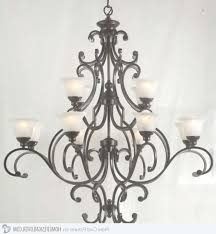 unique ace wrought iron small chandeliers hand forged by clayton j with regard to hand