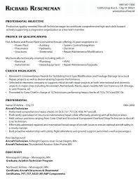 Mechanic Resume Template Inspiration Aircraft Mechanic Resume Template Rascalflattsmusicus