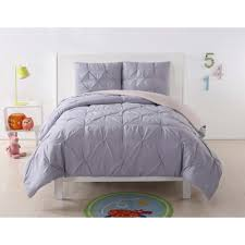 laura hart kids pleated lavender and blush twin xl duvet set dcs2016lbtx 18 the home depot