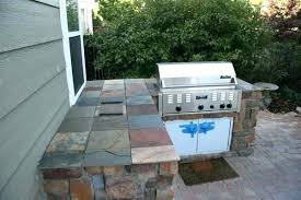 s outdoor cooking island plans grill ideas