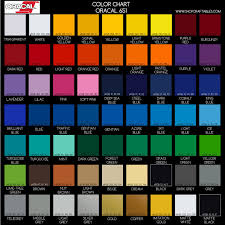 651 Color Chart Oracal 651 Sheets By Colors Outdoor Vinyl For Signs Car