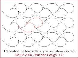 Munnich Design - Quilt Recipes: Digital Quilting Pattern - Browse ... & Munnich Design - Quilt Recipes: Digital Quilting Pattern - Browse All  Patterns | Free Motion Quilting Designs | Pinterest | Feathers, Digital and  Patterns Adamdwight.com