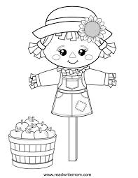 Small Picture Free Printable Fall Coloring Pages for Kids