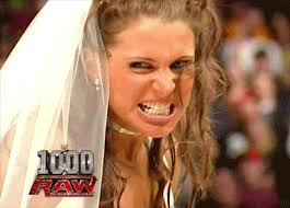You want Stephanie McMahon? Then you will be vanquished by ... - giphy