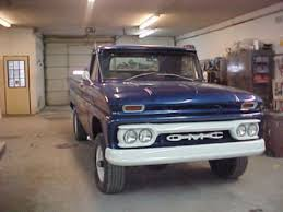 gmc 4wd pickup 1964 gmc pickup truck 4wd manual transmission 3/4 ...