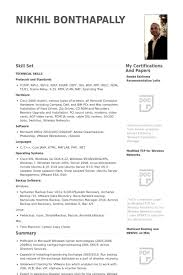 System Administrator Resume Awesome 8711 System Administrator Resume Samples VisualCV Resume Samples Database