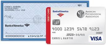 american phsycological association bank of america cash rewards
