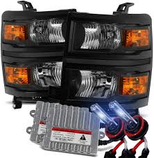 Silverado Fog Light Bulb Size Amazon Com Modifystreet 8000k Hid For 14 15 Chevy Silverado