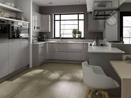light grey painted kitchen cabinets