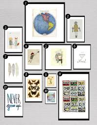Free Wall Printables Roundup Free Printables For Gallery Walls O Little Gold Pixel