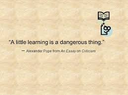 chapter the enlightenment ppt 37 ldquoa little learning is a dangerous thing
