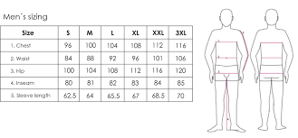 2117 Size Guide