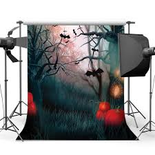 Photography <b>Backdrops Halloween</b> Horror Night <b>Mysterious Forest</b> ...