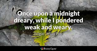 "Image result for ""Once upon a midnight dreary,"""