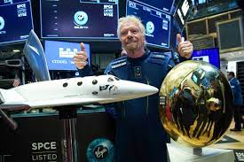 watch Richard Branson fly to space ...