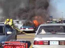 Car Fire At Walmart Parking Lot Youtube