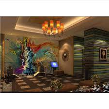 400x280cm Wiwhy 3d Wandbild Anpassung Street Art Bunte