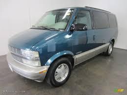 2001 Medium Cadet Blue Metallic Chevrolet Astro LS Passenger Van ...