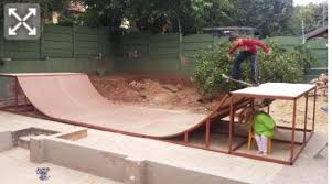 Your Back Yard Ramp  General BMX Talk  BMX Forums  Message How To Build A Skatepark In Your Backyard