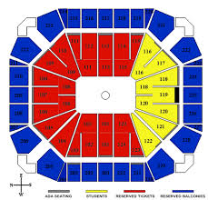 Georgia Tech Basketball Stadium Seating Chart Seating Maps