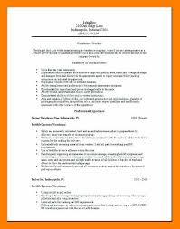 Warehouse Job Description For Resume 9 10 Warehouse Duties For Resume Archiefsuriname Com