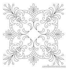 Free Hand Embroidery Patterns Beauteous Free Hand Embroidery Pattern Perfect Pillow Top NeedlenThread