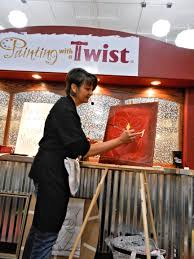 painting with a twist makes s artists in one night