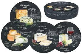 "<b>Набор десертных тарелок</b> Nuova <b>R2S</b> ""Мир сыров"", диаметр 19 ..."