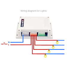 sonoff 4ch smart wifi switch 4 gang wireless switches din rail 4 Gang Wiring Diagram we maintain high standards of excellence and strive for 100% customer`s satisfaction positive feedback is very important to us pls contact us before you 4 gang wiring diagram