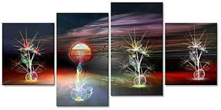 4 panel canvas abstract cluster  on 4 piece canvas wall art sets with mp4001 multi panel canvas print 4 panels