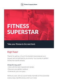 Wellness Newsletter Templates Sports And Recreation Newsletter Templates Email Marketing