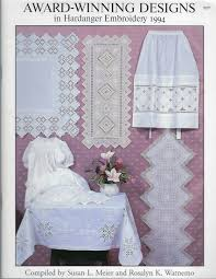 101 Best Loved Designs From Cross Stitch And Country Crafts Hardanger Embroidery Designs Free Embroidery Patterns