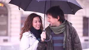 dating umbrella for two