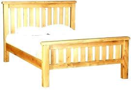 Slat Bed Frame King Slatted Bed Frame King Countryside Base X Wood ...