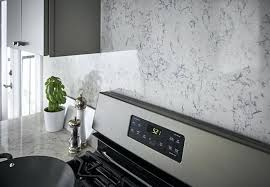Pictures Of Kitchen Countertops And Backsplashes Extraordinary Quartz Countertops With Backsplash Quartz And Quartz Countertop
