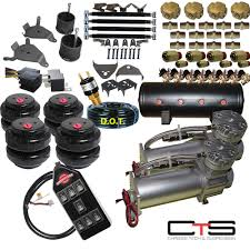 details about chevy s10 air kit dual pressor 25 26 bags 1 2 valves 3 gal tank7 switch