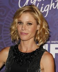 Short Wavy Curly Hairstyles Mid Length Wavy Hairstyle By Julie Bowen Choppin It Off