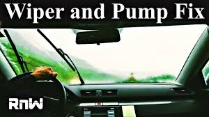 windshield washer pump and system diagnosis windshield washer pump and system diagnosis