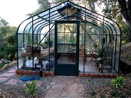Pacific Glass Greenhouses For Backyard   Gothic Arch Greenhouses