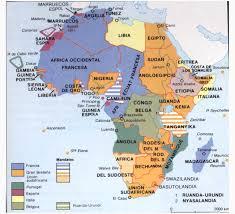 mapa político del continente africano