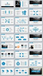 27 Blue Business Professional Powerpoint Templates Job Business