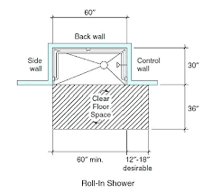 ada shower dimensions post handicap shower valve dimensions ada shower dimensions