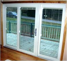 3 panel entry door with glass swivel front patio sliding pivot
