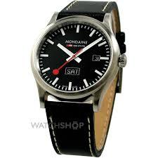 "men s mondaine swiss railways watch a6673030819sbb watch shop comâ""¢ mens mondaine swiss railways watch a6673030819sbb"