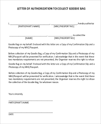 55 Authorization Letter Samples Pdf Doc Sample Templates