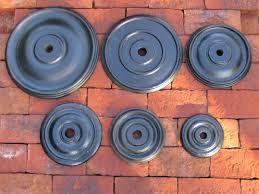 Pattress Plate Design Traditional Uk Cast Iron Bulls Eye Wall Tie