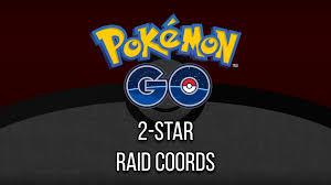 Tier 2 - Raid Coordinates - Pokemon GO - ARSpoofing